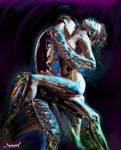 The Dance, a work of art by Shamarel.