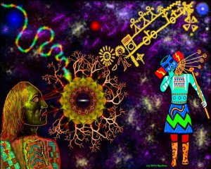 Hopi Blue Star by Myztico Campo http://www.myzticocampo.com/